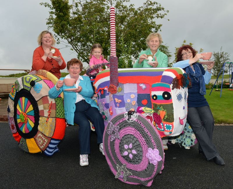 Knitted Tractor Galway Hospice